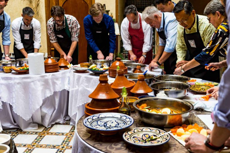Why someone will be interested towards Moroccan cooking class?